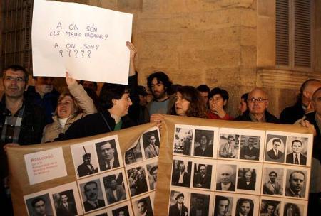 Protesta ante la Audiencia Provincial de Palma de Mallorca