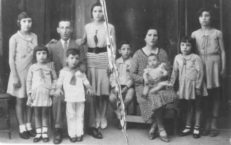 Familia Romero de Castilla Lorente (1936)