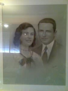 Miguel Sánchez y esposa