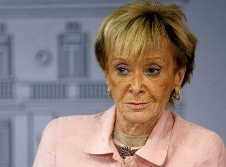 Mª Teresa fernadez de la Vega Vicepresidenta del Gobierno