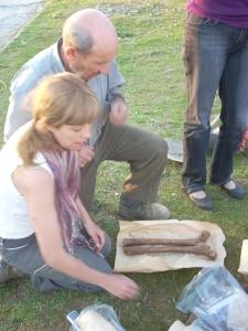 Exhumando en Casavieja