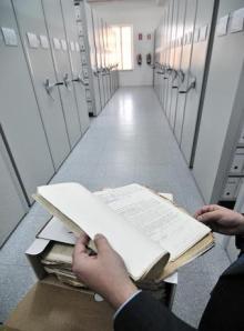 Imagen del depósito del Archivo General Histórico de Defensa