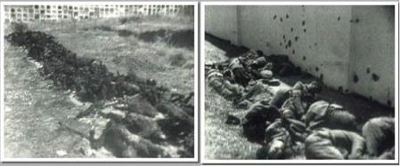 Asesinados delante de las tapias del cementerio de Badajoz 1936