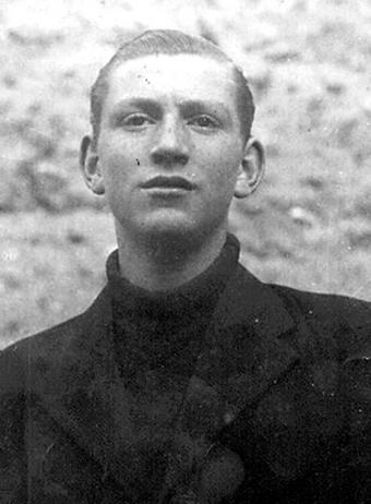 Marcos Ana, en la cárcel de Porlier (Madrid) en 1939
