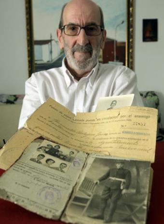 Documento del dinero confiscado por el franquismo- GORKA LEJARCEGI