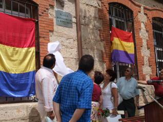 Conmemoración en Morales del Toro