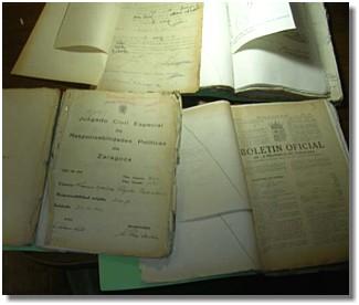 """Archivo Ducal de Híjar. Archivo Abierto. """"LA MEMORIA HISTÓRICA"""""""
