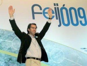 Feijó, el actual Presidente de la Xunta