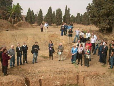 Excavación en la fosa de San Rafael (Málaga)