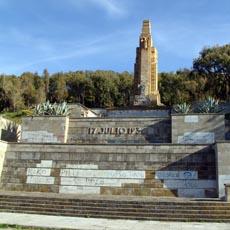 El monumento del Llano Amarillo, en el punto de mira de estas actuaciones.