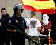 Un concejal de Ansoáin denuncia en la Policía Foral amenazas de muerte de Falange
