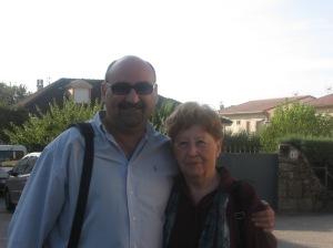 Pilar, mi primer contacto y mi primera alegría del viaje...
