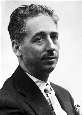 Lluis Companys, presidente de la Generalidad de Cataluña desde 1934 y durante la Guerra Civil Española.
