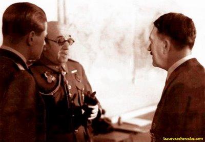 El General Moscardó con Hitler