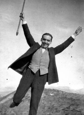 Federico García Lorca en 1925- Luis Buñuel