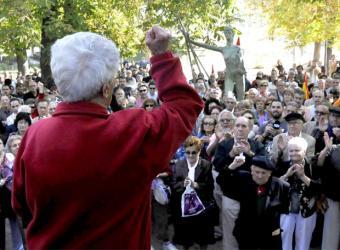 Homenaje en Segovia a las presas del franquismo- AURELIO MARTÍN