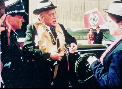 Una escena de la película Hamsun, de 1996, en la que el actor Max von Sydow daba vida a las fijaciones pronazis del premio Nobel de Literatura de 1920. - AP