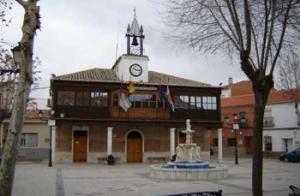 El Ayuntamiento de Numancia de la Sagra (Toledo).
