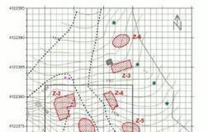 Plano de las fosas de Alfacar (Foto de archivo)