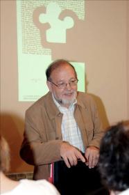 El filósofo Manuel Reyes Mate, ganador hoy del Premio Nacional de Ensayo