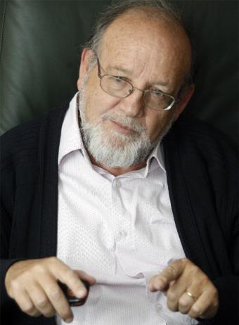 El escritor Reyes Mate, ayer en Madrid.- BERNARDO PÉREZ