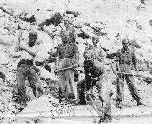Batallón Disciplinario de Soldados Trabajadores Penados (esclavos forzados por la patria)