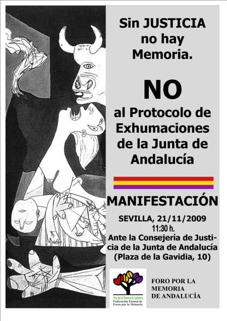 cartel sin justicia no hay memoria