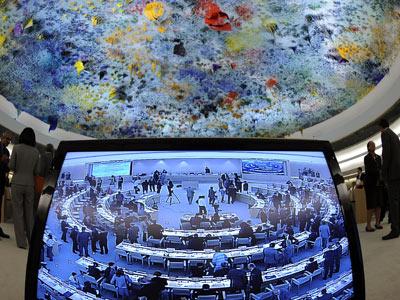 Franquismo en la ONU