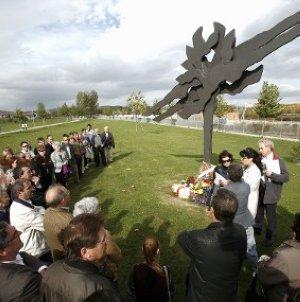 Homenaje víctimas franquismo País Vasco