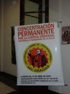 ¡No a la impunidad de los crimenes del franquismo!