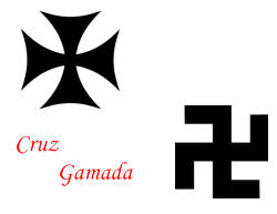 Imagen Cruz Gamada- Simbología fascista- foto Google images