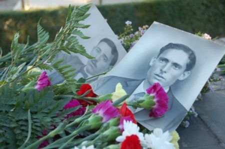 Victor Santos Asensio y Wenceslao Romero de Castilla Lopez, asesinados en Mérida.