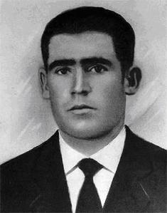 Valerico Canales Jorge, padre de Fausto. Foto cedida a La M V por Fausto.