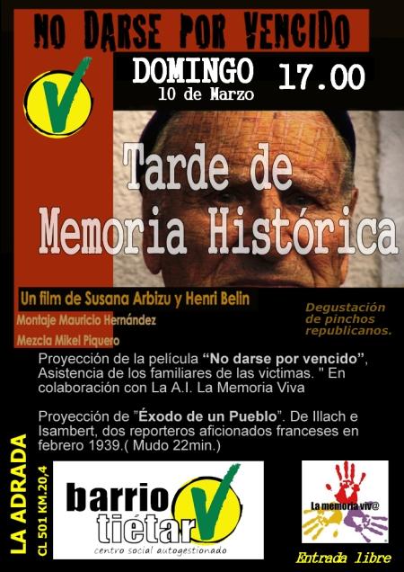 tarde memoria historica
