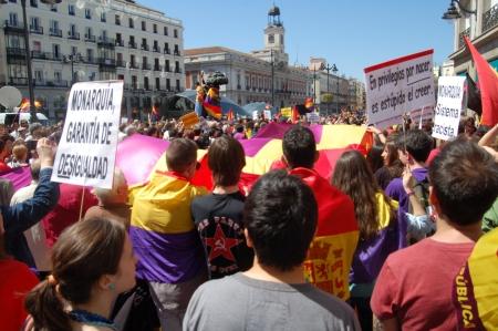 14 04 2013. Madrid. de Cibeles a Sol. Foto LMV.