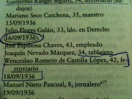 libro La columna de la Muerte. F. Espinosa Maestre